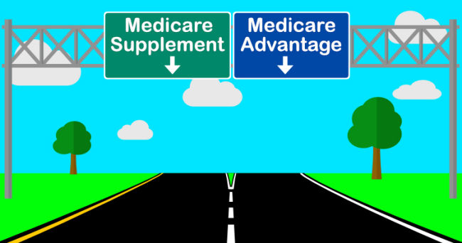 It's importance for those over 65 in Louisville, KY to the difference between Medicare Supplement and Medicare Advantage.